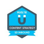 HUG Badge - Content Strategy
