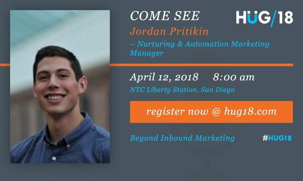 SDHUG_SpeakerAnnouncement_Jordan_HUG18