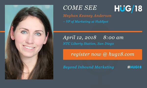 SDHUG_SpeakerAnnouncement_Meghan_HUG18