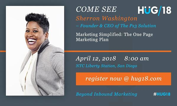 SDHUG_SpeakerAnnouncement_Sherron_HUG18