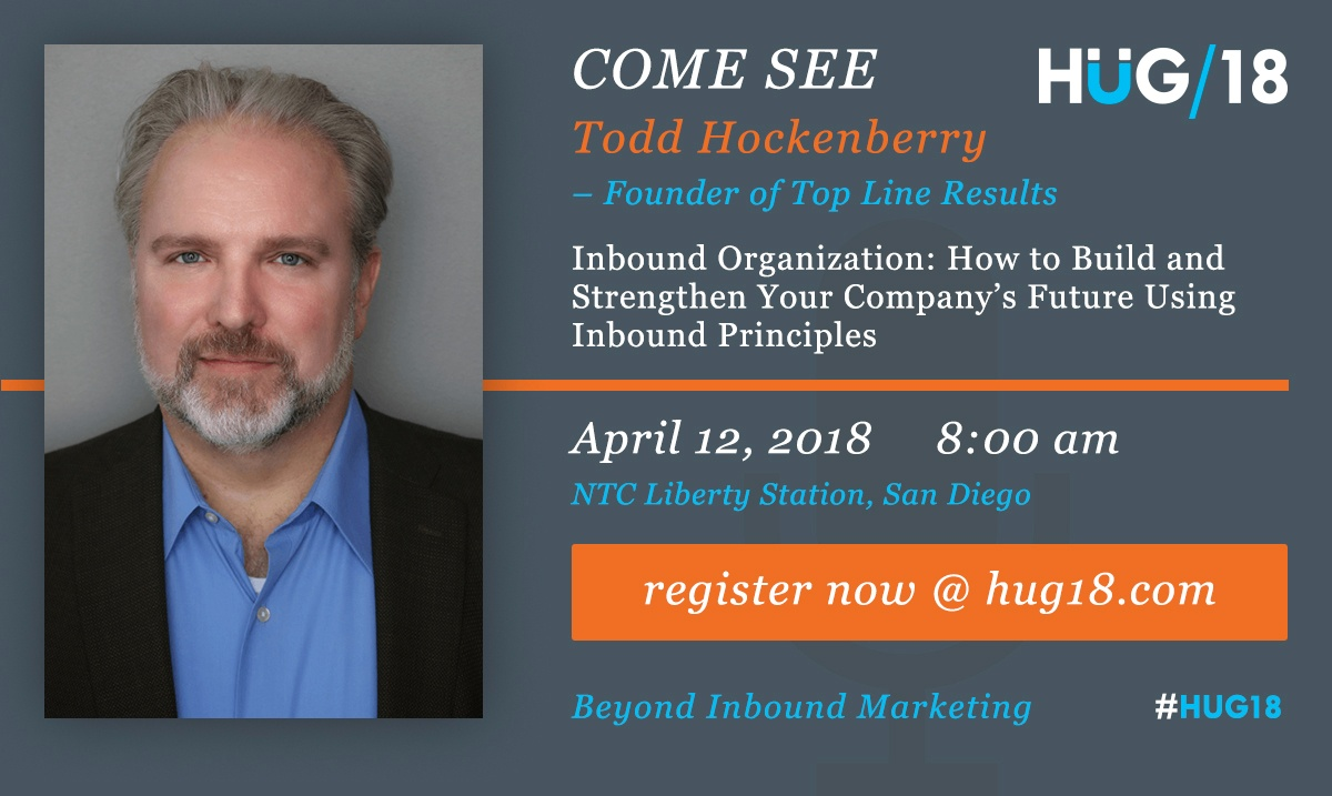 Todd Hockenberry HUG2018